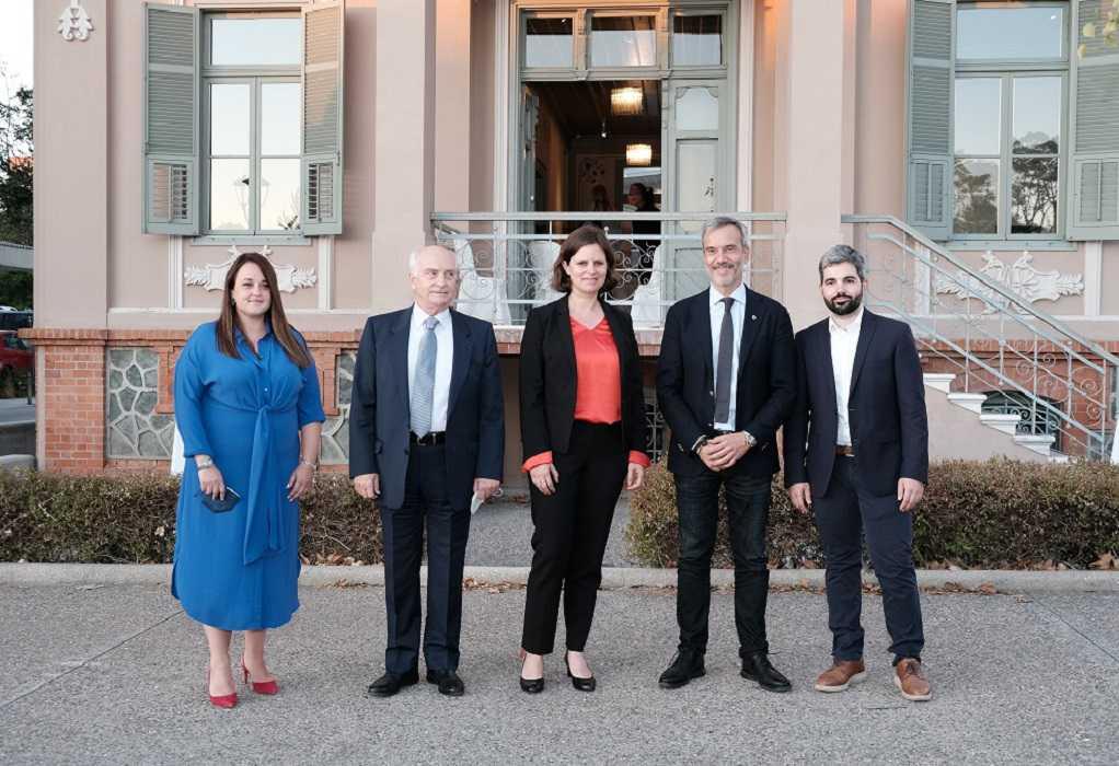 Εγκαίνια του Γραφείου του Ελληνογερμανικού Ιδρύματος Νεολαίας στη Θεσσαλονίκη (ΦΩΤΟ)