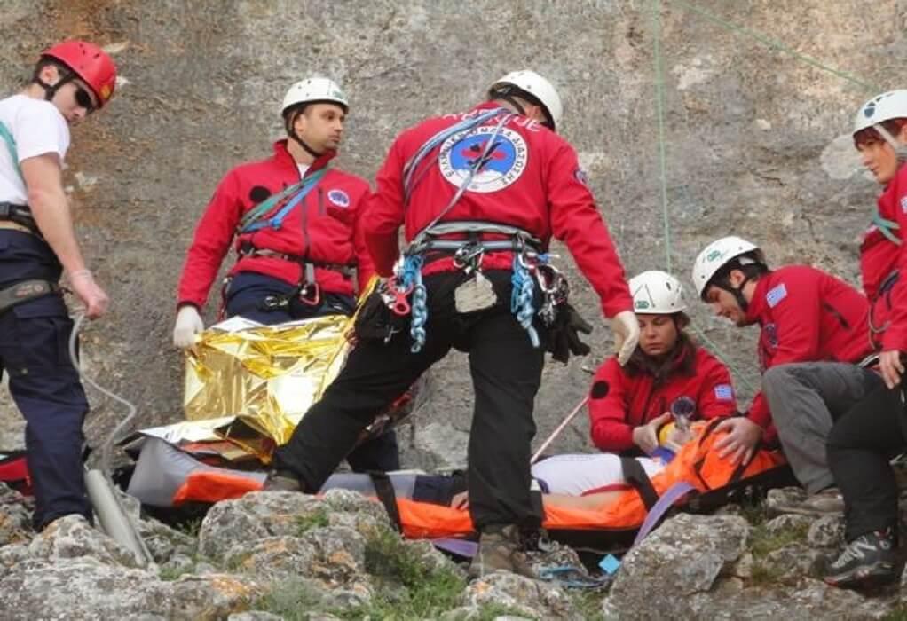 Όλυμπος: Επιχείρηση διάσωσης τραυματισμένου ορειβάτη
