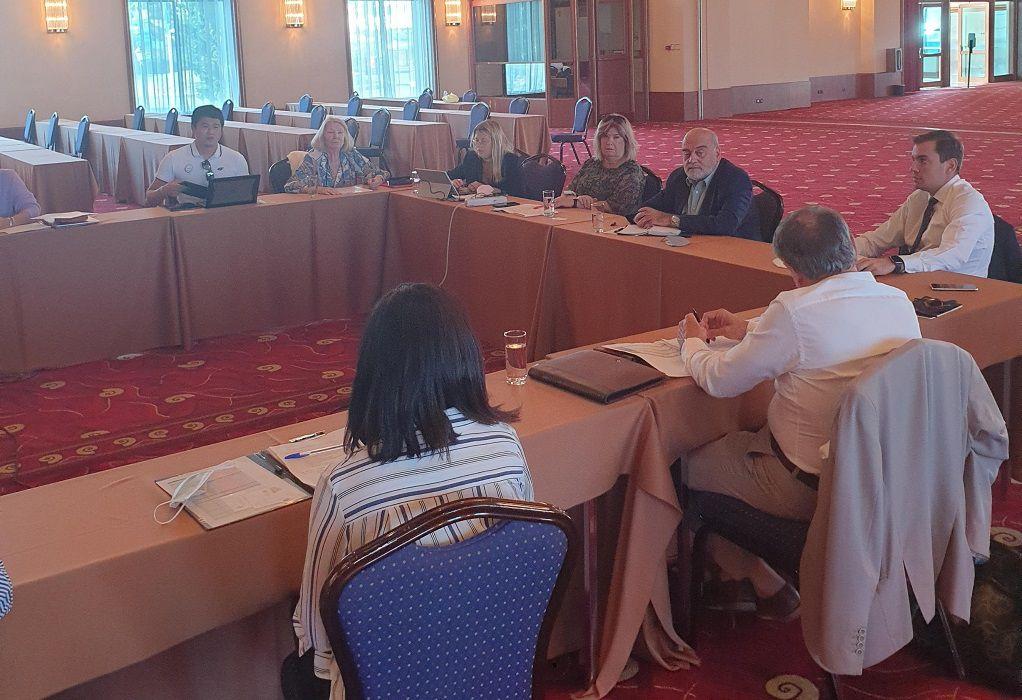 Συνεχίζεται με εντατικούς ρυθμούς η προετοιμασία για τη Γενική Συνέλευση της ANOC στην Κρήτη