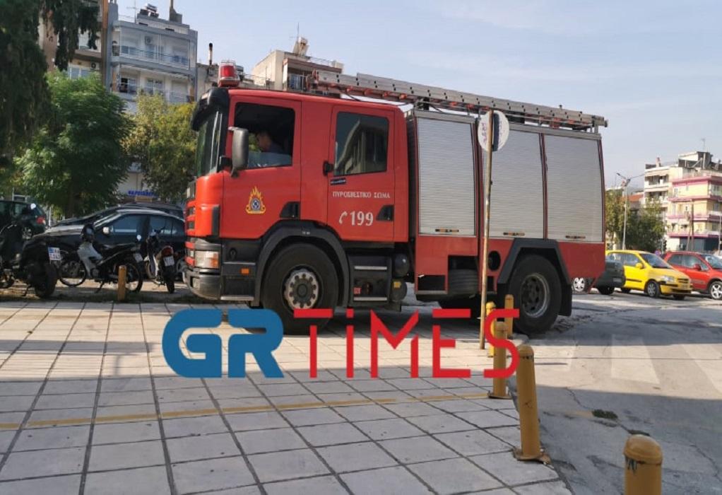 Θεσσαλονίκη: Φωτιά στο ΕΠΑΛ που έγιναν τα επεισόδια (ΦΩΤΟ-VIDEO)