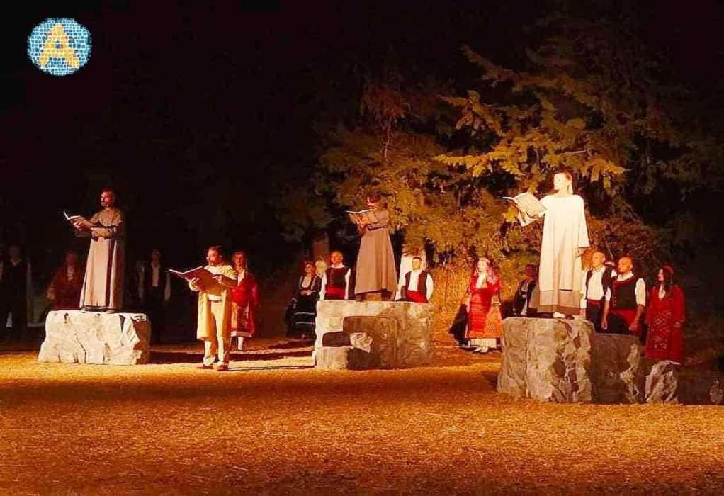 Δ. Αριστοτέλη: Εκατοντάδες θεατές στις παραστάσεις για την Επανάσταση της Χαλκιδικής
