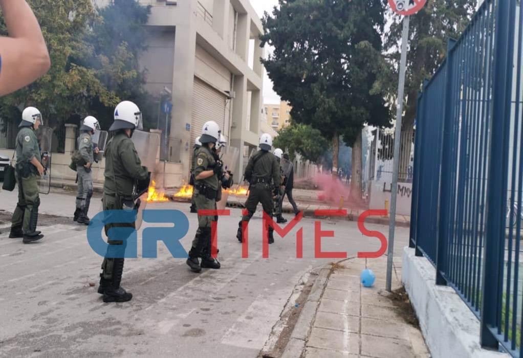 Θεσσαλονίκη: Νέα σοβαρά επεισόδια στο ΕΠΑΛ Σταυρούπολης (VIDEO-ΦΩΤΟ)