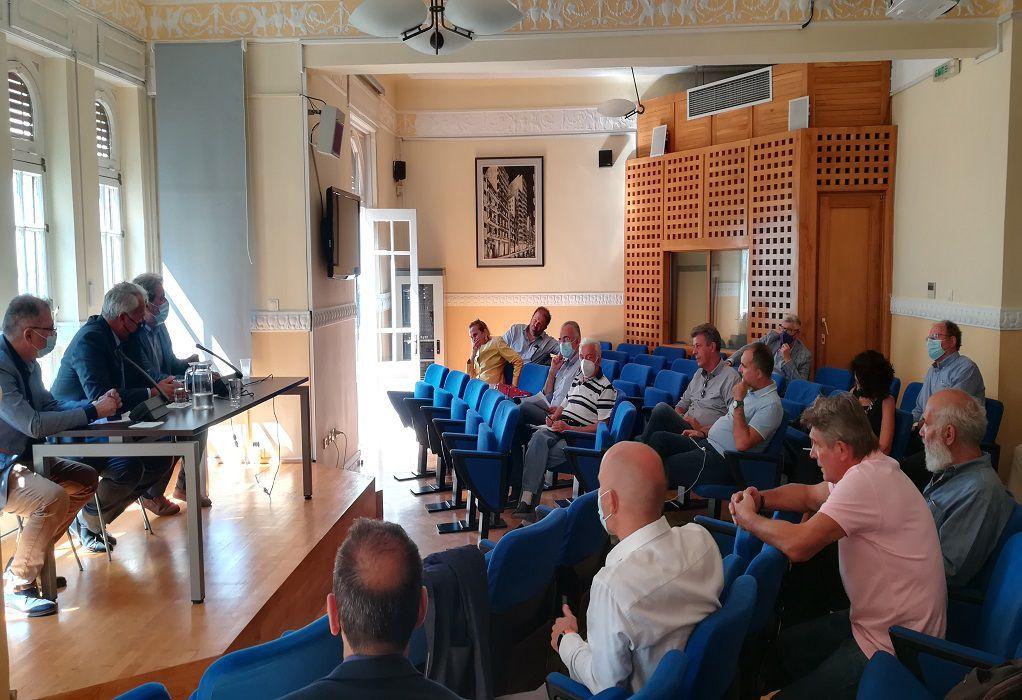 Συναντήσεις δημοσιογραφικών Ενώσεων και Ταμείων με Υπουργούς στη Θεσσαλονίκη