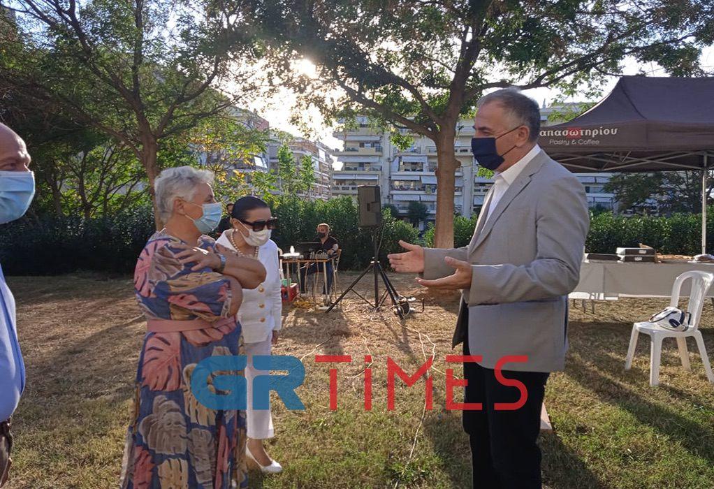Καλαφάτης: Θα φέρουμε το Κέντρο Ημέρας Alzheimer στον δήμο Κορδελιού-Ευόσμου (ΦΩΤΟ)
