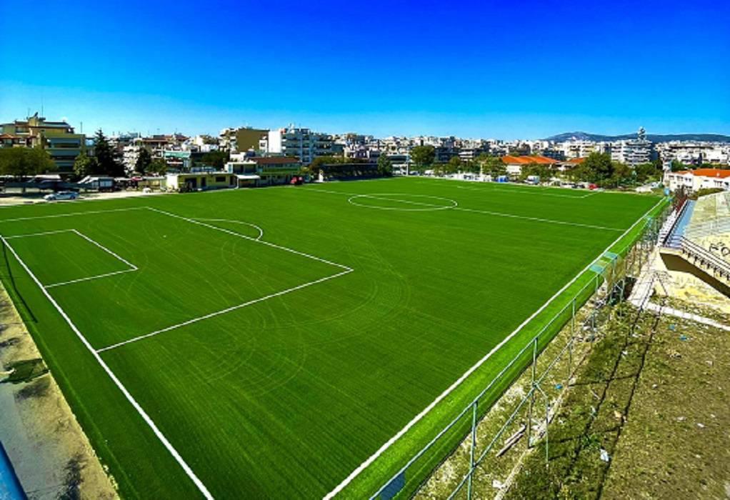 Δ. Παύλου Μελά: Με 750.000€ στρώθηκε πράσινο ''χαλί'' στα δημοτικά γήπεδα Άνω Ηλιούπολης και Ευκαρπίας