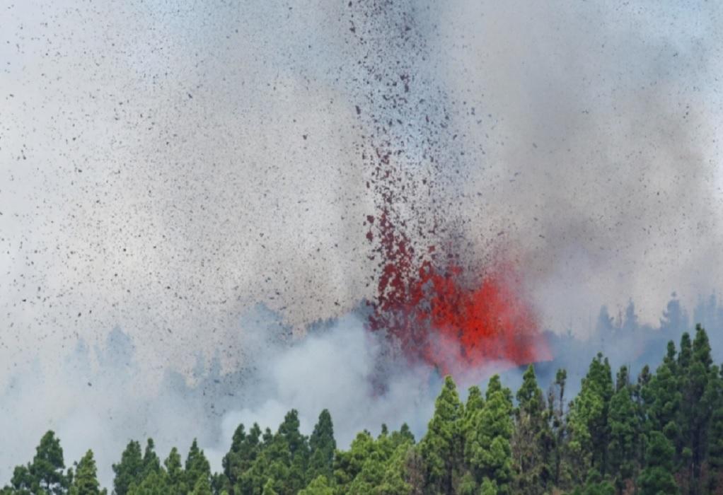 Ισπανία: Πως έγινε η έκρηξη του ηφαιστείου στο νησί Λα Πάλμα (VIDEO)