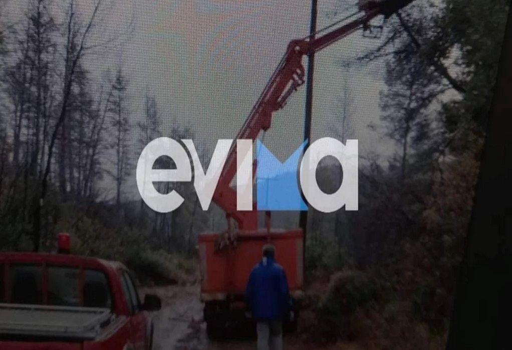 Η κακοκαιρία «χτύπησε» την Εύβοια – Πτώσεις δέντρων άφησαν χωρίς ρεύμα και νερό οικισμό (ΦΩΤΟ-VIDEO)