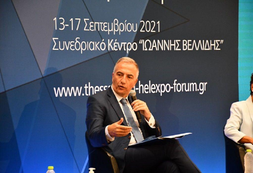 Στ. Καλαφάτης στο Thessaloniki Helexpo Forum 2021: «Το Μετρό θα γίνει, θέλουν δε θέλουν κάποιοι»