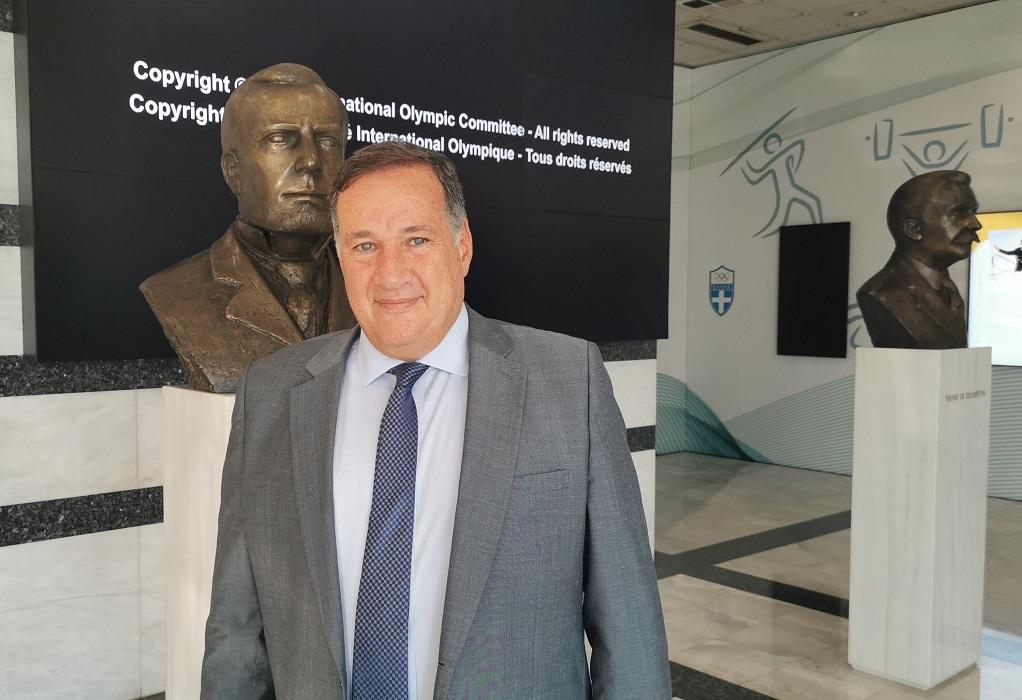 O Σπύρος Καπράλος επανεξελέγη Πρόεδρος της ΕΟΕ για τέταρτη θητεία