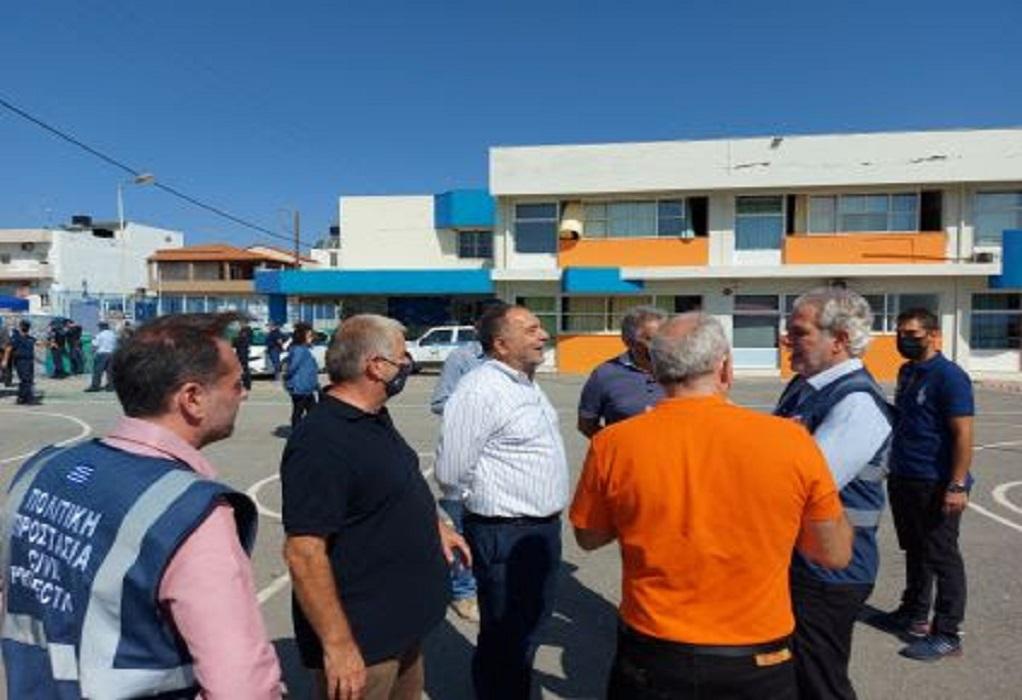 Η ΚΕΔΕ στις πληγείσες περιοχές του δήμου Μινώα Πεδιάδας