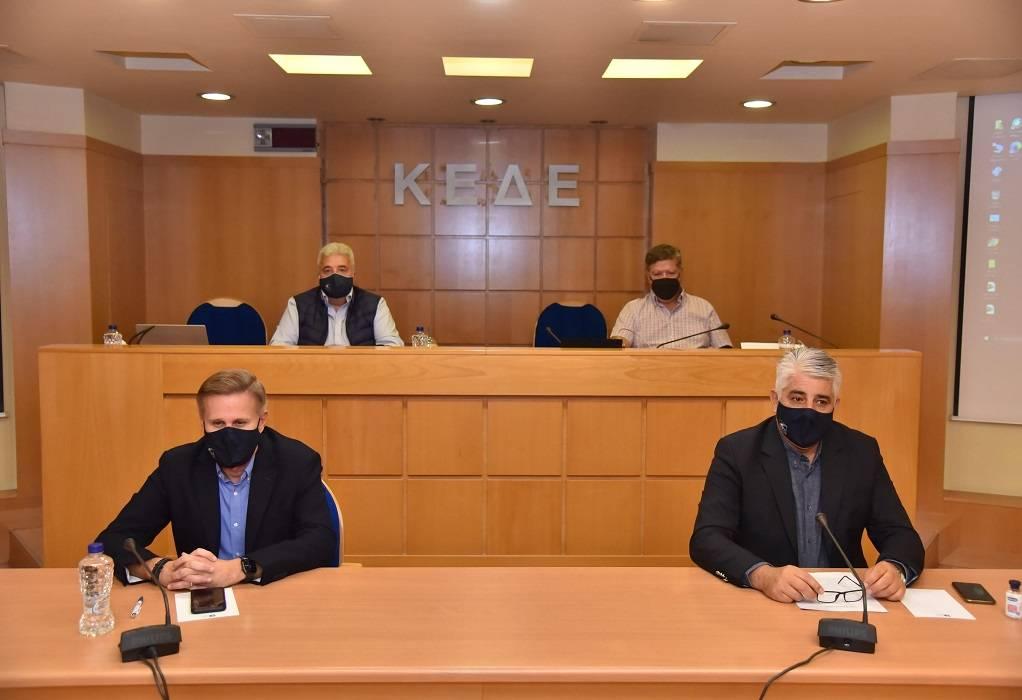 ΚΕΔΕ: Τα οικονομικά των ΟΤΑ στην συνεδρίαση της Επιτροπής Οικονομικών