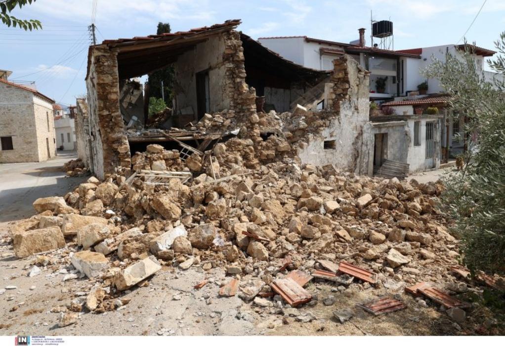 Ηράκλειο: Ξεπέρασαν τις 3.000 τα μη κατοικήσιμα σπίτια μετά το σεισμό