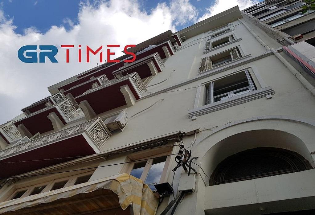Θεσσαλονίκη-ΕΛΑΣ:Επιχείρηση διάσωσης… drone από μπαλκόνι (ΦΩΤΟ)