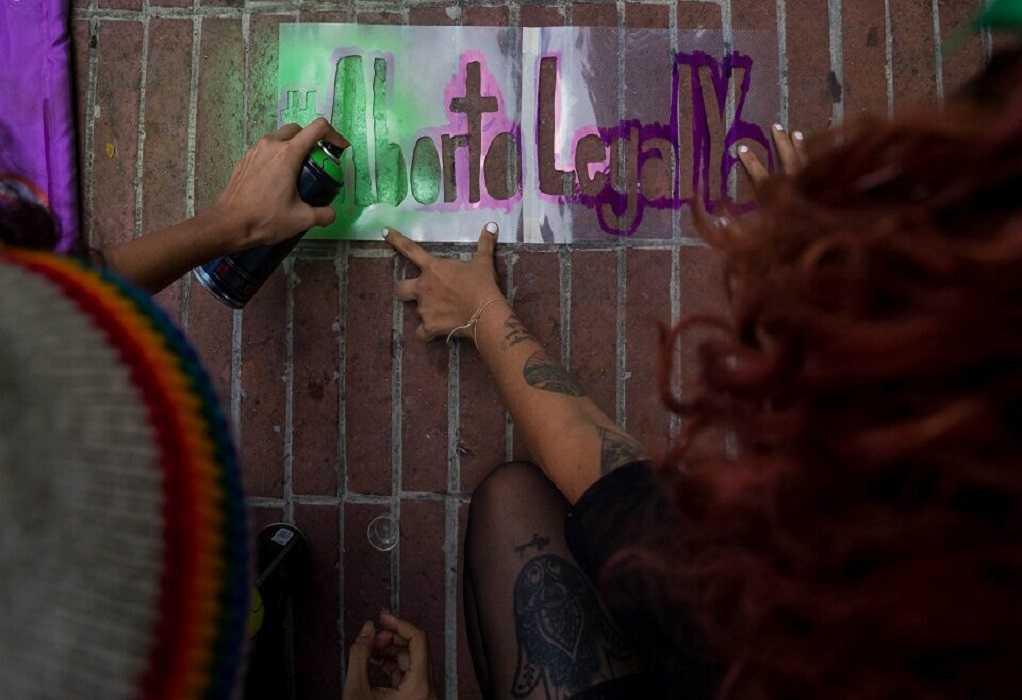 Η Λατινική Αμερική διαδήλωσε υπέρ των αμβλώσεων (ΦΩΤΟ)