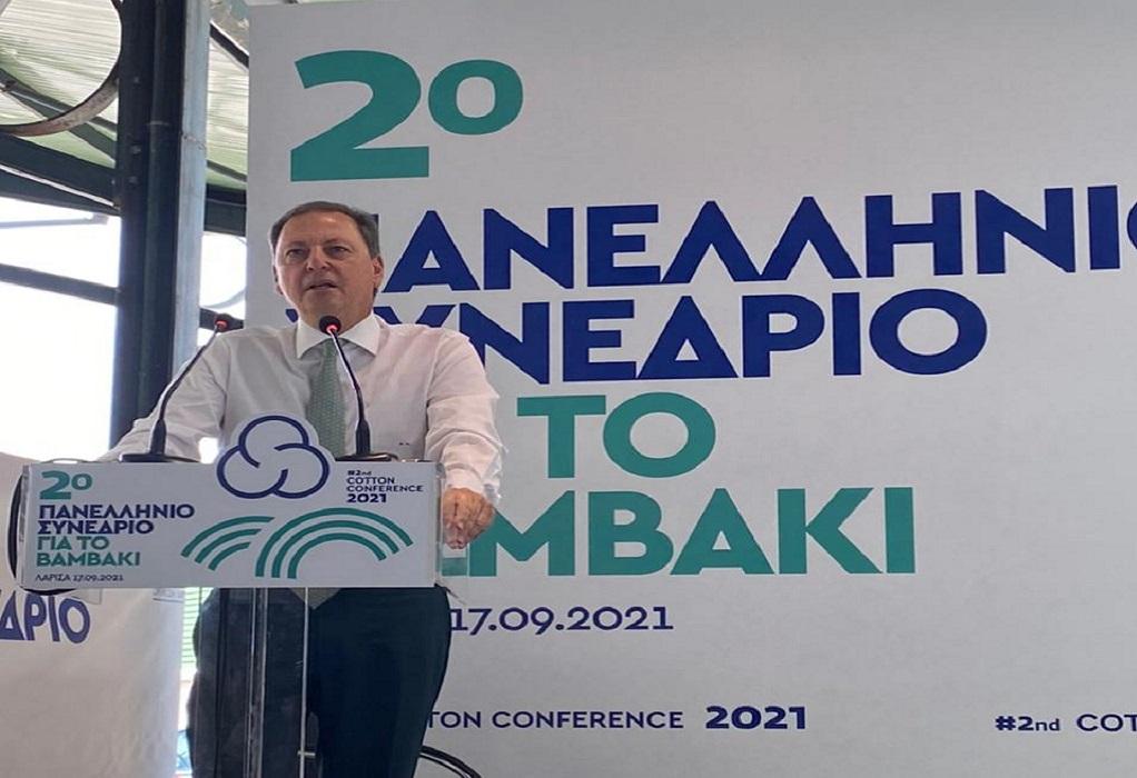 Σπ. Λιβανός: Επενδύουμε στα ποιοτικά χαρακτηριστικά του ελληνικού βαμβακιού