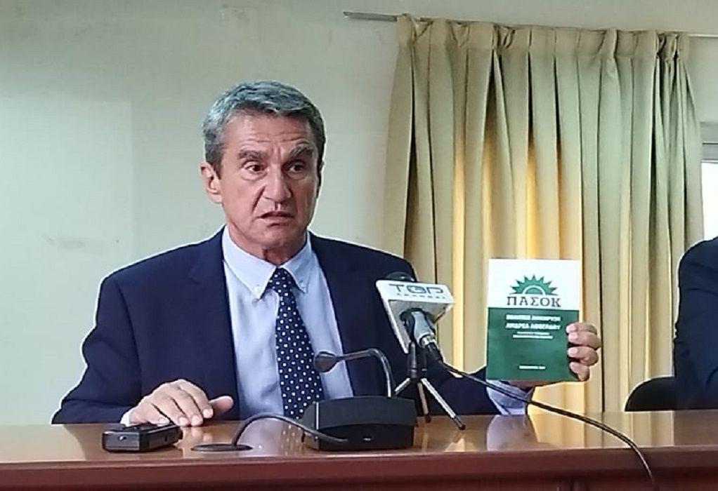 Στην Κοζάνη ο υποψήφιος πρόεδρος του ΚΙΝΑΛ Ανδρέας Λοβέρδος (VIDEO)