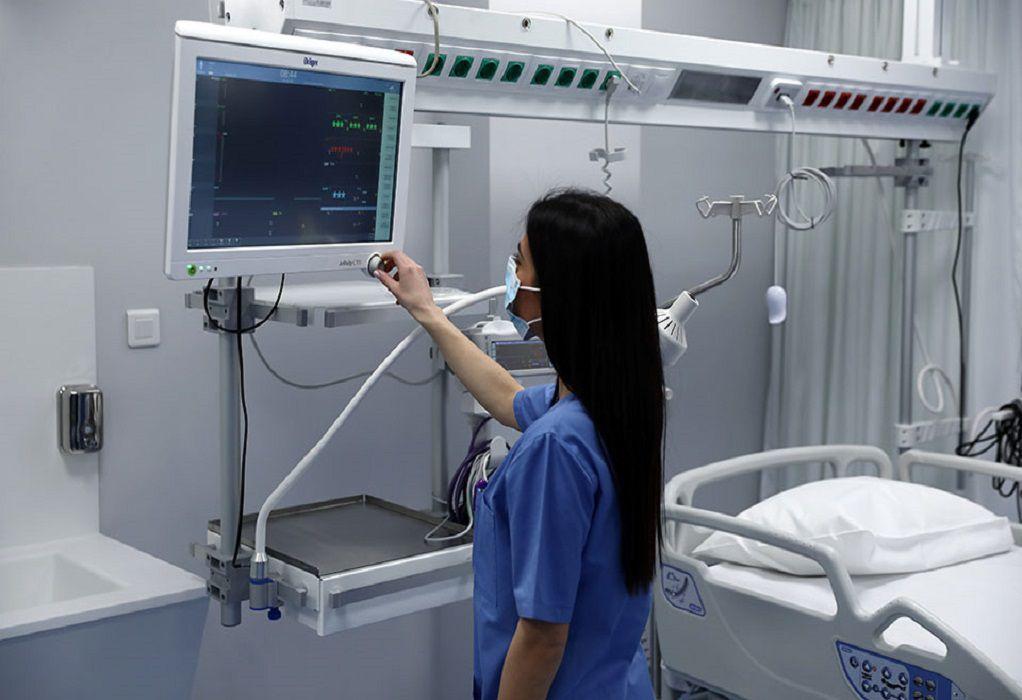 4η ΥΠΕ: Ανεμβολίαστοι οι 49 από τους 50 ασθενείς με κορωνοϊό που νοσηλεύονται σε ΜΕΘ