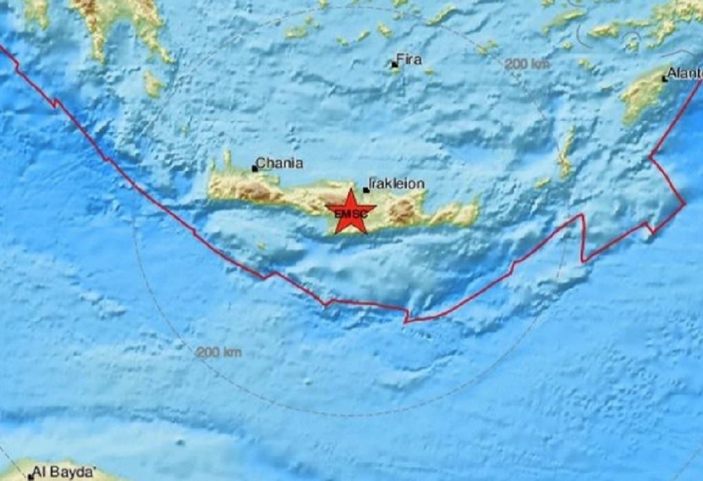 Νέος ισχυρός μετασεισμός στην Κρήτη