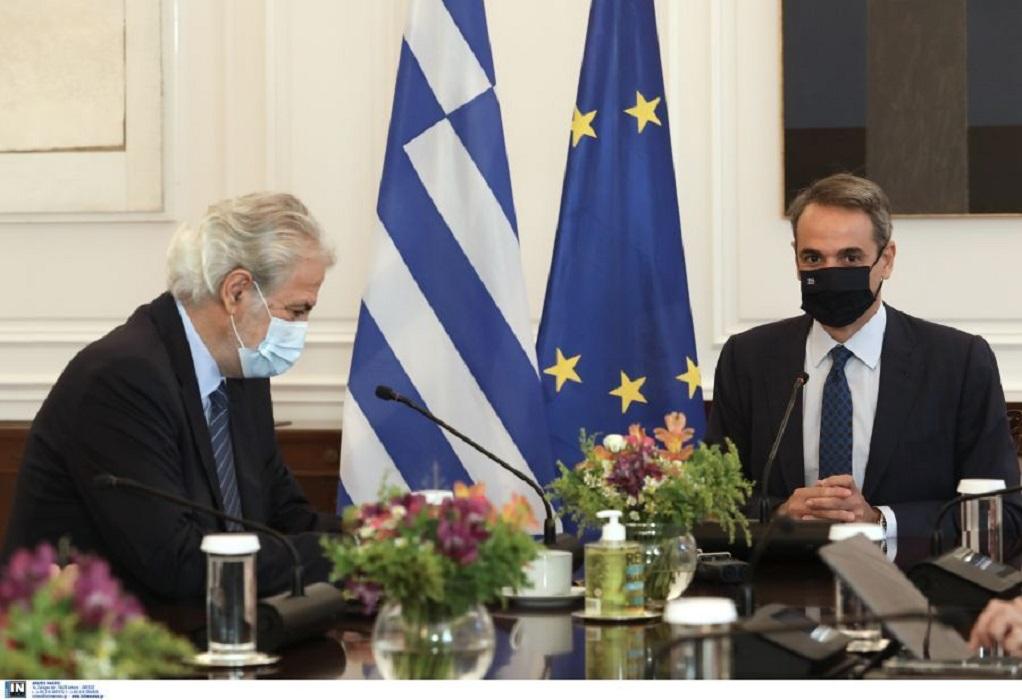 Κυρ. Μητσοτάκης: Θα οικοδομήσουμε μια υποδομή που θα γίνει πρότυπο στην Ευρώπη