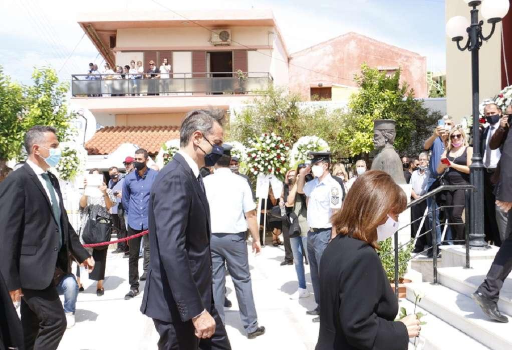 Κυρ. Μητσοτάκης: Αποχαιρετούμε τον τελευταίο μεγάλο Έλληνα του 20ου αιώνα
