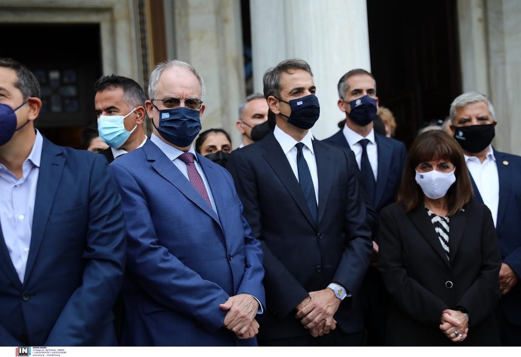 Στην κηδεία του Μ. Θεοδωράκη αύριο ο πρωθυπουργός