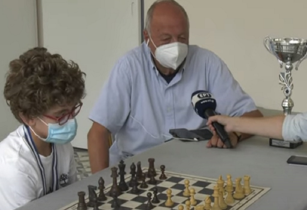 Ένας 10χρονος σκακιστής με υψηλές προοπτικές από την Καβάλα