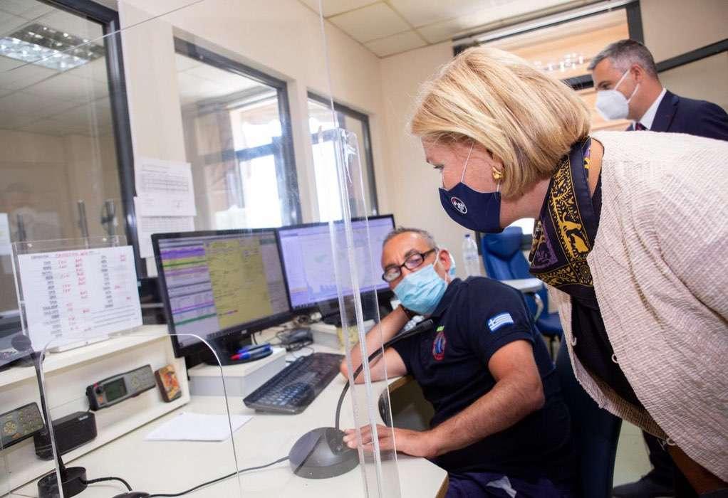 Στη Θεσσαλονίκη η αναπληρώτρια υπουργός Υγείας Μίνα Γκάγκα
