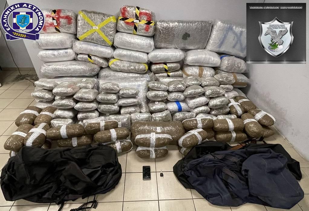 Κατασχέθηκαν περισσότερα από 330 κιλά κάνναβης (ΦΩΤΟ)