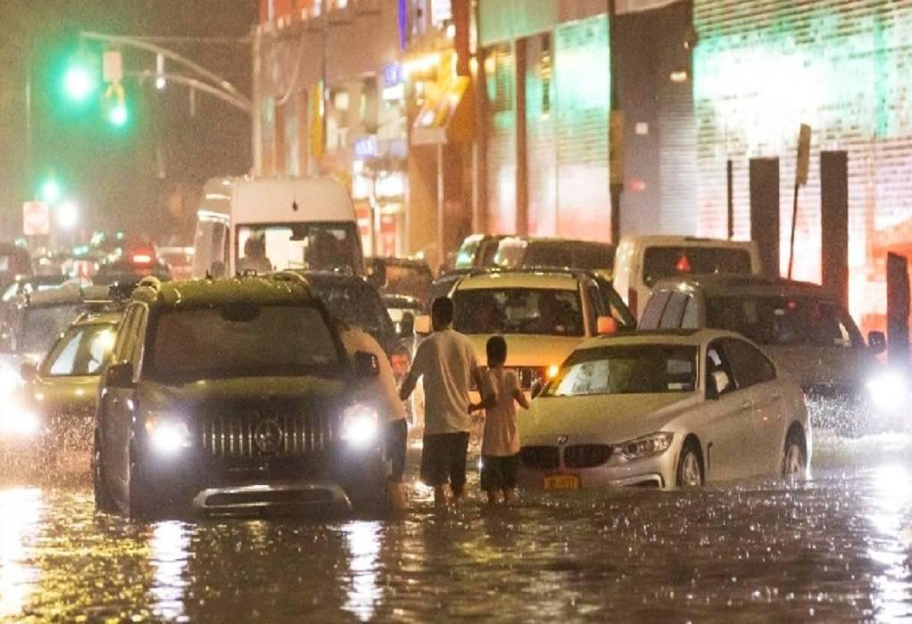 Νέα Υόρκη: Τουλάχιστον 41 νεκροί από την καταιγίδα Άιντα