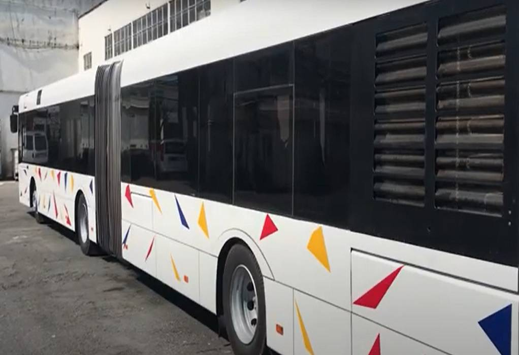 ΟΑΣΘ: Παραλαβή νέων λεωφορείων στο αμαξοστάσιο του Φοίνικα (VIDEO)