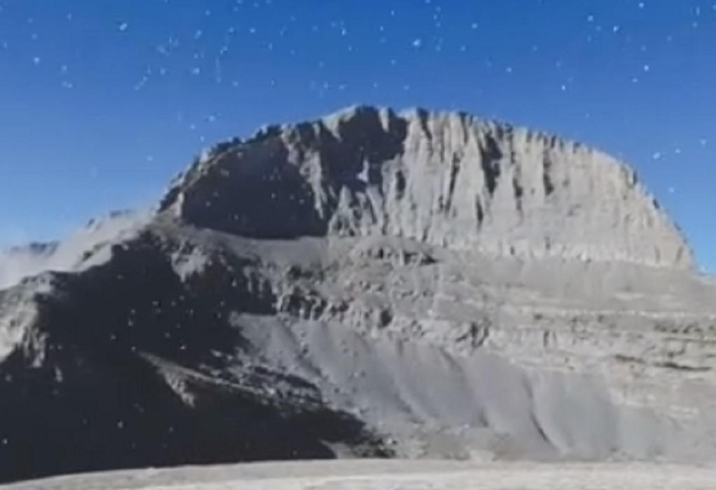 Τραυματισμός ορειβάτη στον Όλυμπο – Επιχείρηση της Πυροσβεστικής για την μεταφορά του