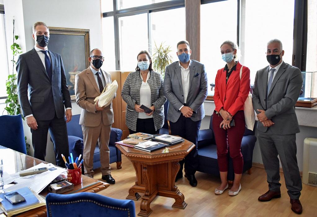 Επίσκεψη της Ολλανδής Πρέσβη στο Πανεπιστήμιο Μακεδονίας