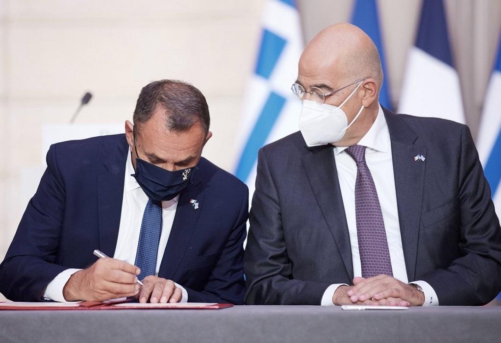 Παναγιωτόπουλος: Πήραμε αποφάσεις που άλλοι δεν τολμούσαν – «Ελλάς-Γαλλία συμμαχία reloaded»