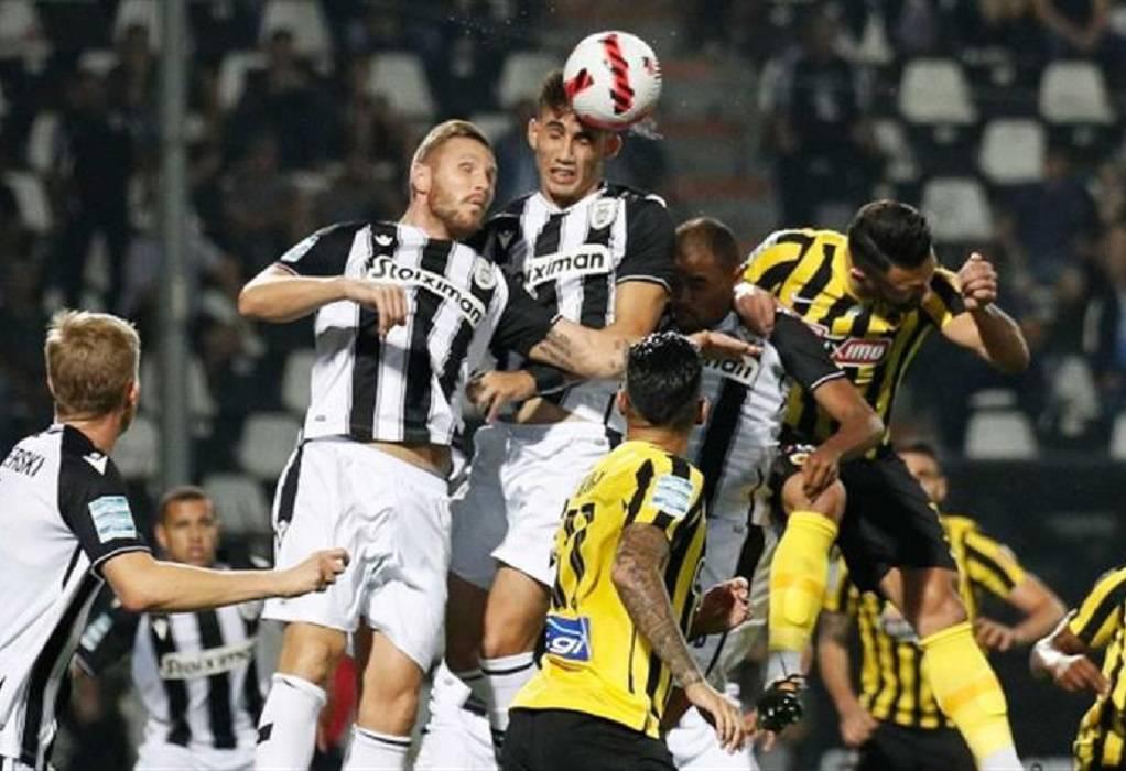 """ΠΑΟΚ-AEK: Πήρε το ντέρμπι ο """"δικέφαλος του βορρά"""" στην Τούμπα"""