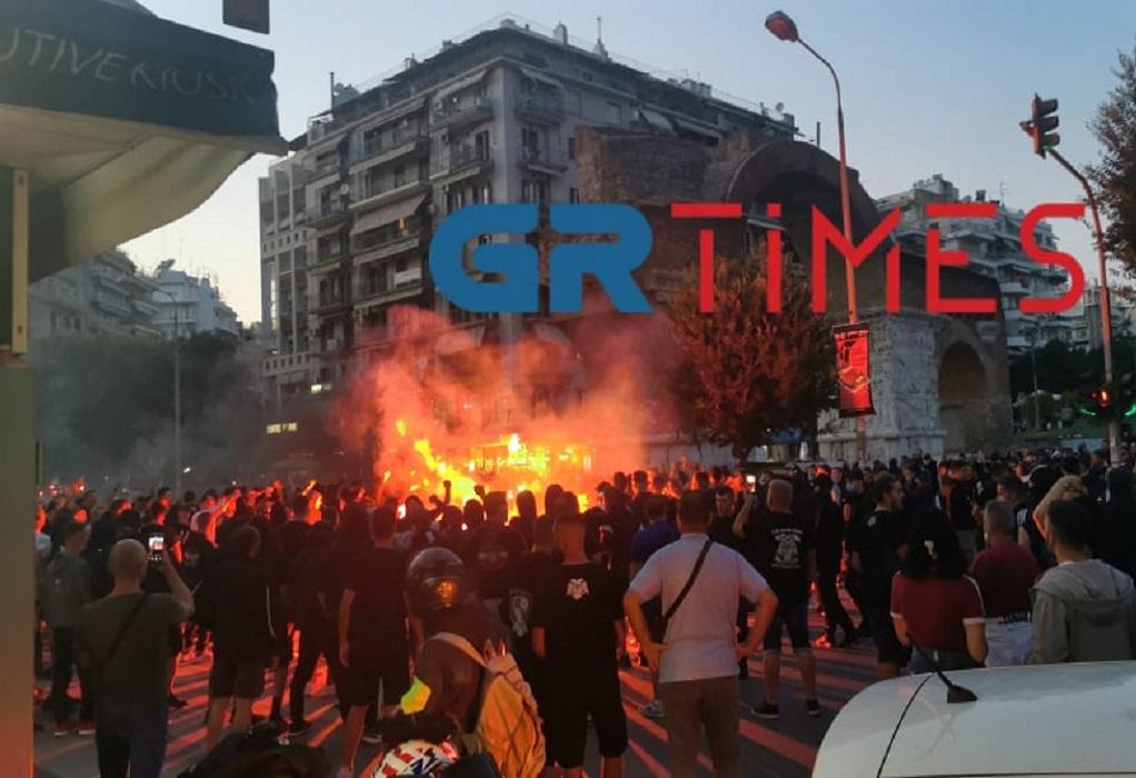 Θεσσαλονίκη: Μία σύλληψη από τα χθεσινά επεισόδια με οπαδούς του ΠΑΟΚ