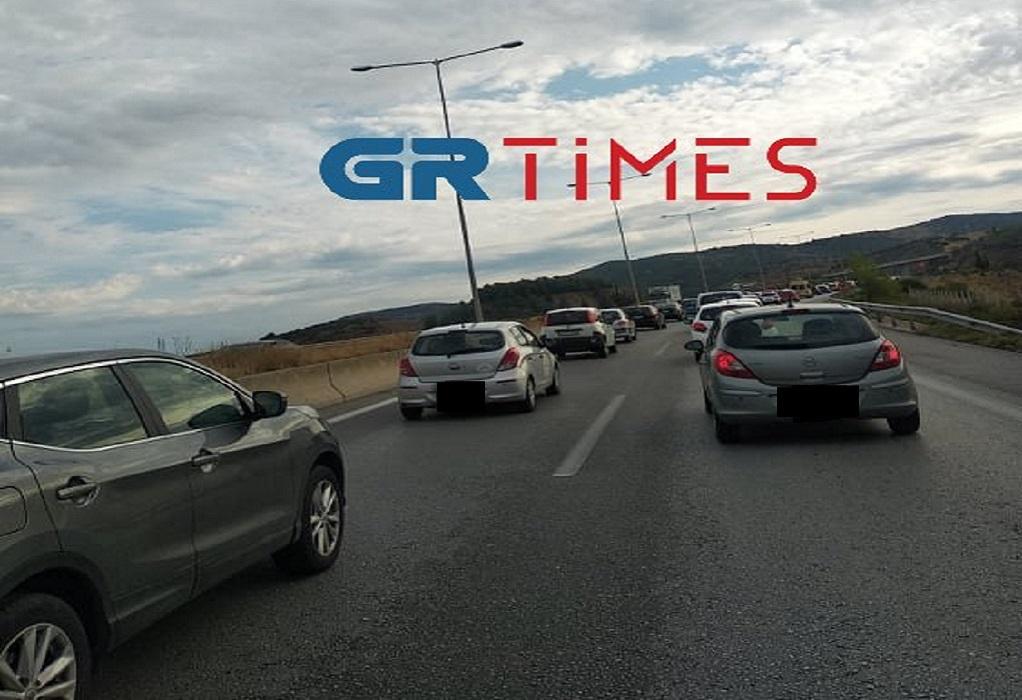 Θεσσαλονίκη-Καραμπόλα: Αποκαταστάθηκε η κυκλοφορία στην Περιφερειακή Οδό (VIDEO)