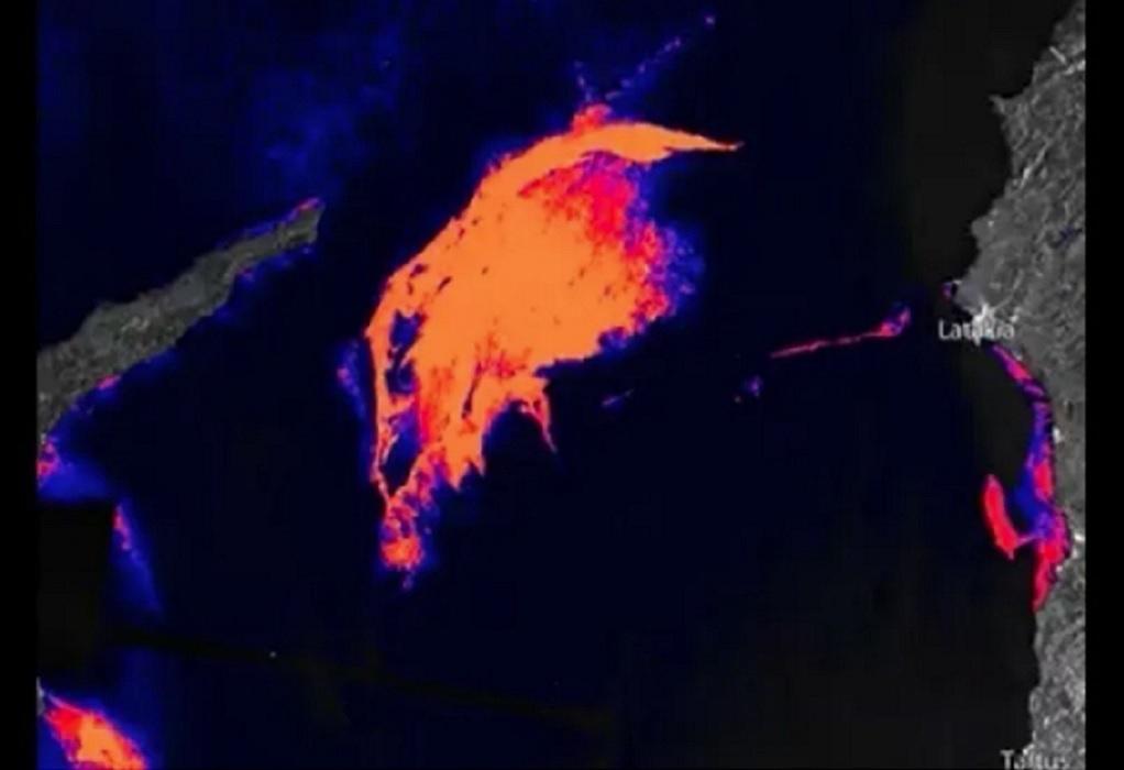 Πετρελαιοκηλίδα στο μέγεθος της Νέας Υόρκης πλησιάζει στις ακτές της κατεχόμενης Κύπρου