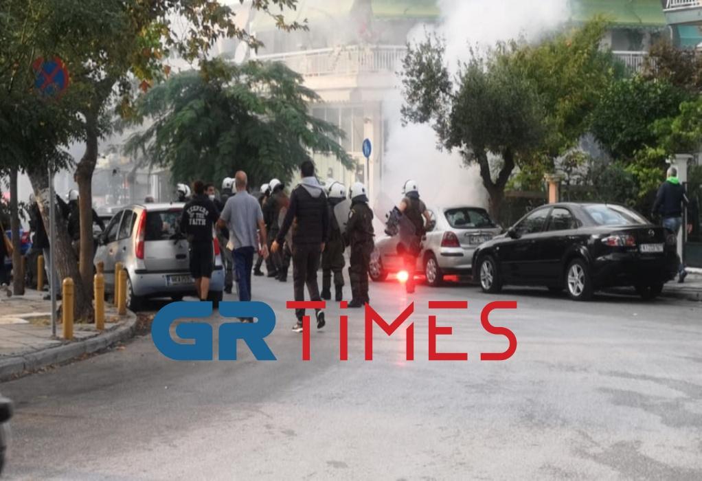 Πλατεία Τερψιθέας: Μία σύλληψη για τα επεισόδια πριν από το αντιφασιστικό συλλαλητήριο