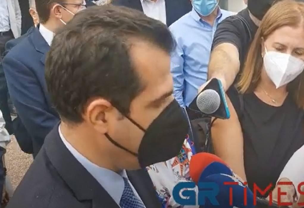 Πλεύρης: Προληπτική η επίσκεψη στη Θεσσαλονίκη για να… προλάβουμε (VIDEO)