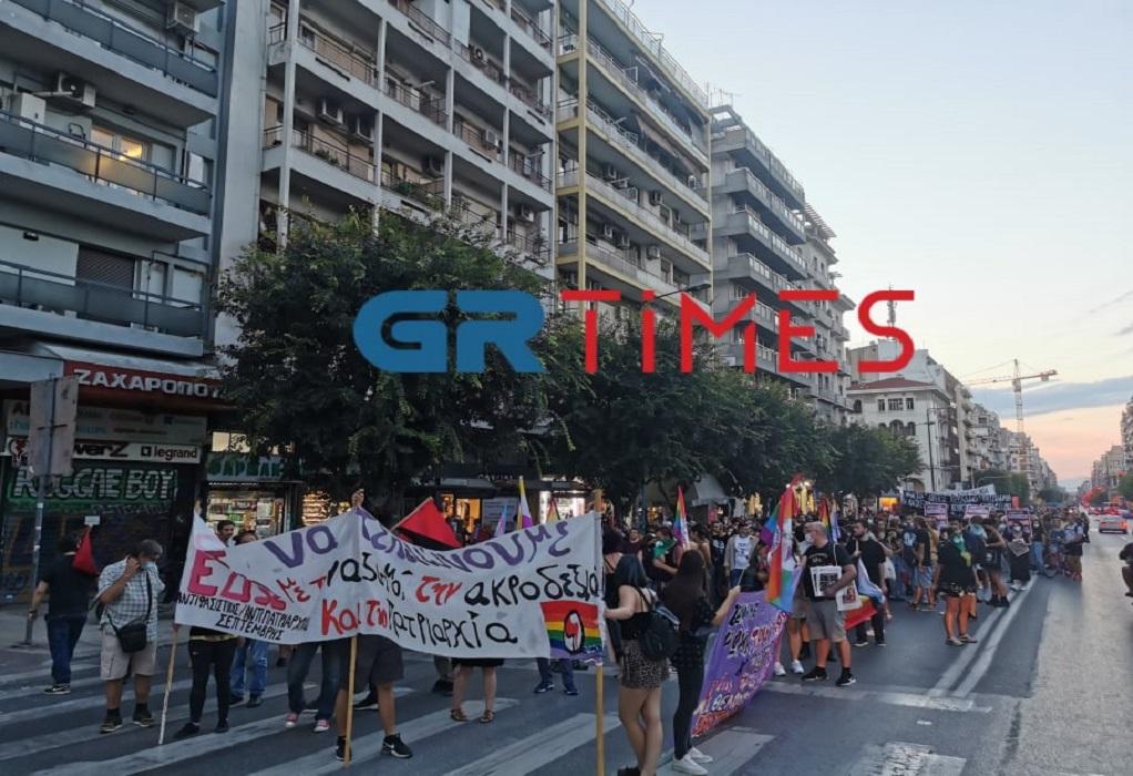 Θεσσαλονίκη: Πορεία για τα τρία χρόνια από τη δολοφονία του Ζακ Κωστόπουλου(ΦΩΤΟ-VIDEO)