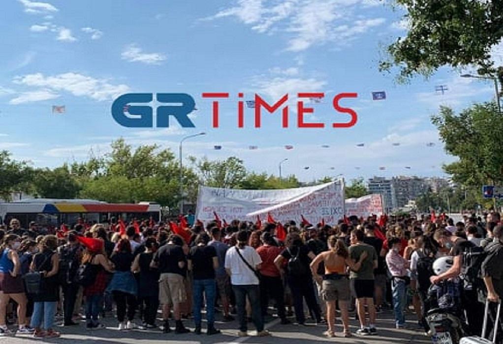 Θεσσαλονίκη: Πορεία των Φοιτητικών Συλλόγων στο κέντρο της πόλης (ΦΩΤΟ-VIDEO)