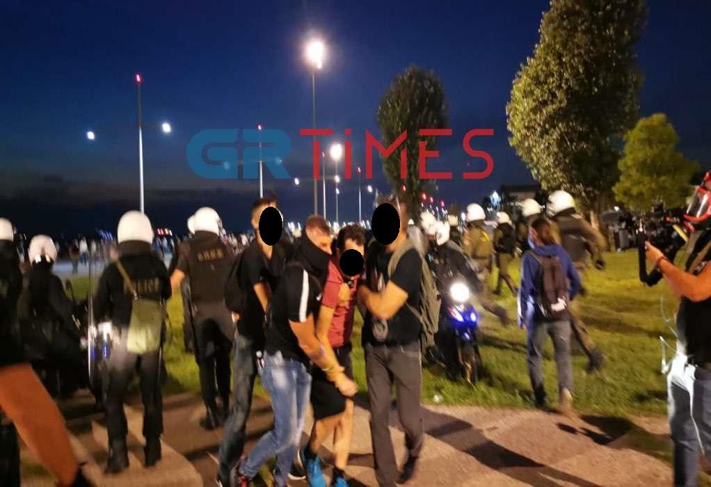 Θεσσαλονίκη: Στο Αυτόφωρο οι συλληφθέντες για τα επεισόδια της 85ης ΔΕΘ