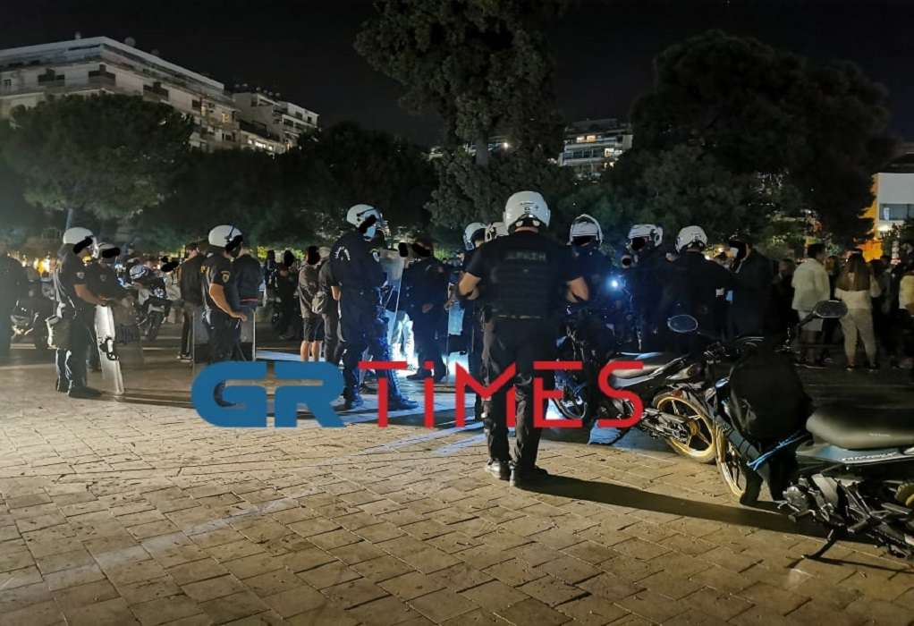 Θεσσαλονίκη: Δύο συλλήψεις από το επεισόδιο μετά τη λήξη του Thessaloniki Pride