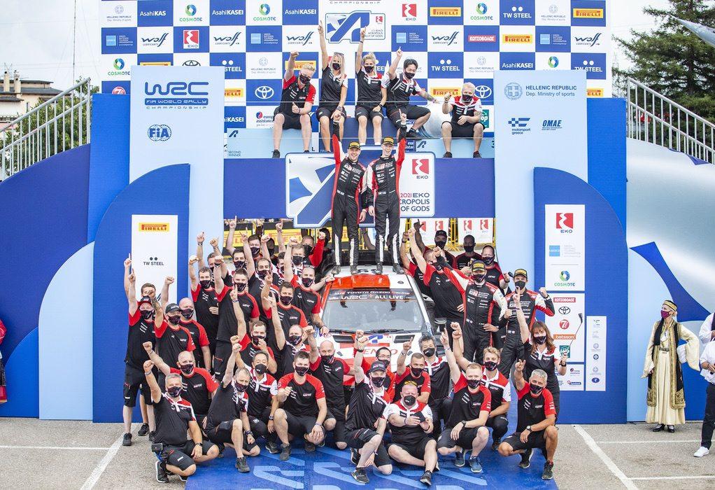 Ράλλυ Ακρόπολις: Απόλυτα ικανοποιημένοι οι αξιωματούχοι του WRC