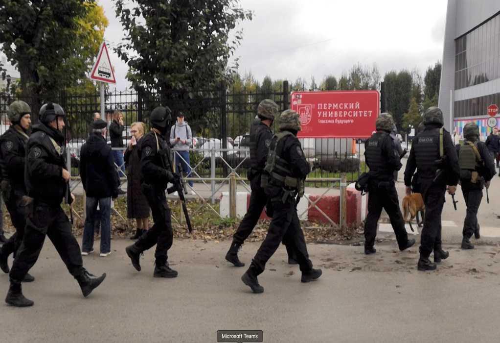 Επίθεση σε πανεπιστήμιο στη Ρωσία: Ανατροπή με τον δράστη – Νοσηλεύεται με τραύματα σε νοσοκομείο