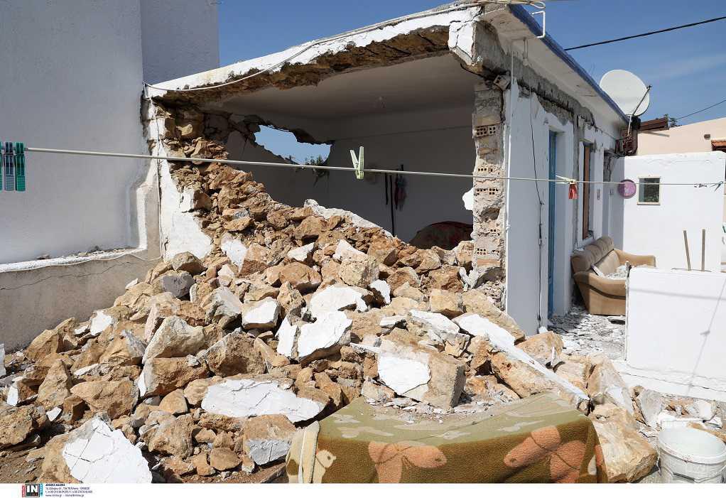 Δ. Παύλου Μελά: Κάλεσμα για ενίσχυση των σεισμοπαθών του Αρκαλοχωρίου Κρήτης
