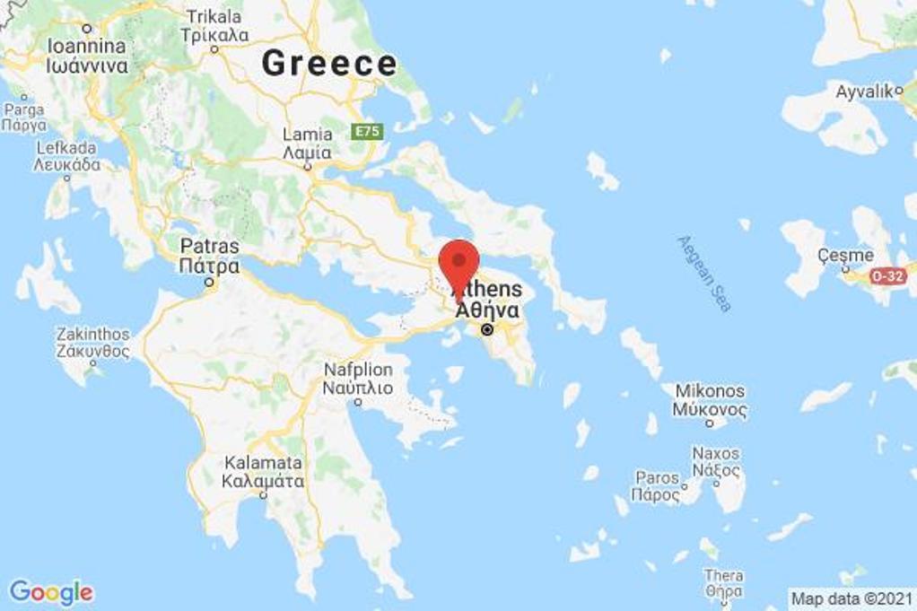 Σεισμική δόνηση 3,1 Ρίχτερ στην Αθήνα