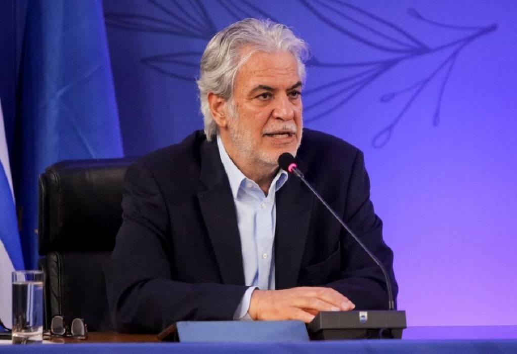 Στυλιανίδης: Προτεραιότητα της Πολιτικής Προστασίας η διασφάλιση της ανθρώπινης ζωής