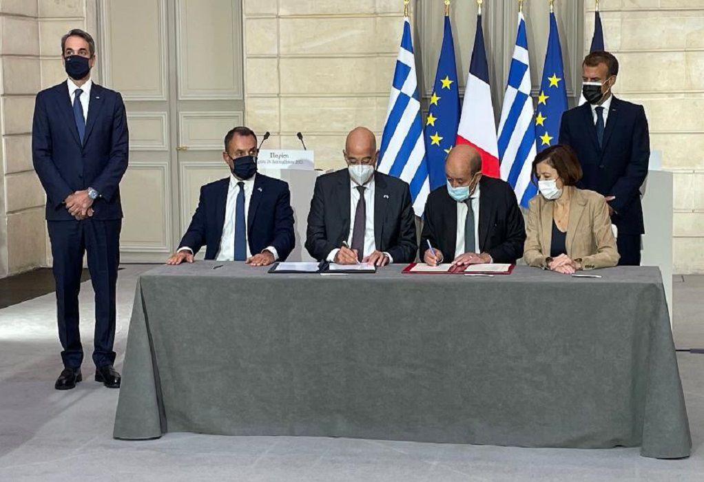 Συμφωνία Ελλάδας – Γαλλίας: Αυτό είναι το κείμενο της αμυντικής συνεργασίας – Τι προβλέπει