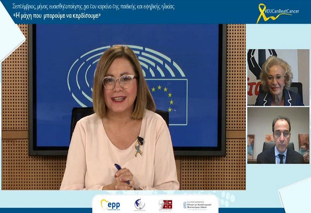 Μ. Σπυράκη: Ψηφιοποίηση του Μητρώου Ασθενών με καρκίνο παιδικής ηλικίας